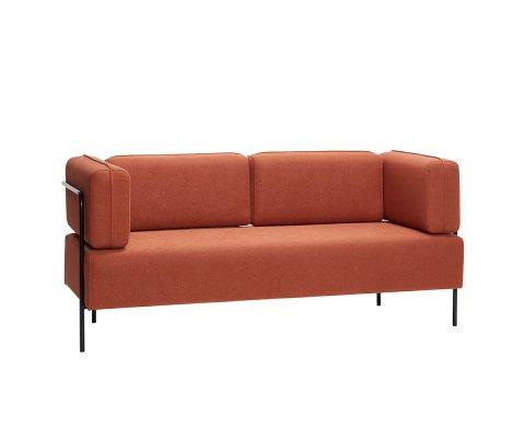 Canapé contemporain 189cm couleur brique POPA