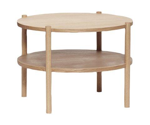 Table basse ronde 60cm en bois KALIMERA