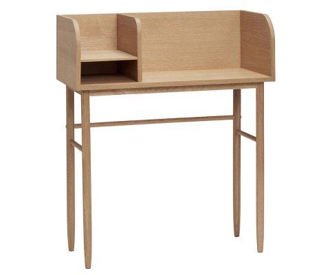 Bureau 84cm style nordique en bois clair YGIAN