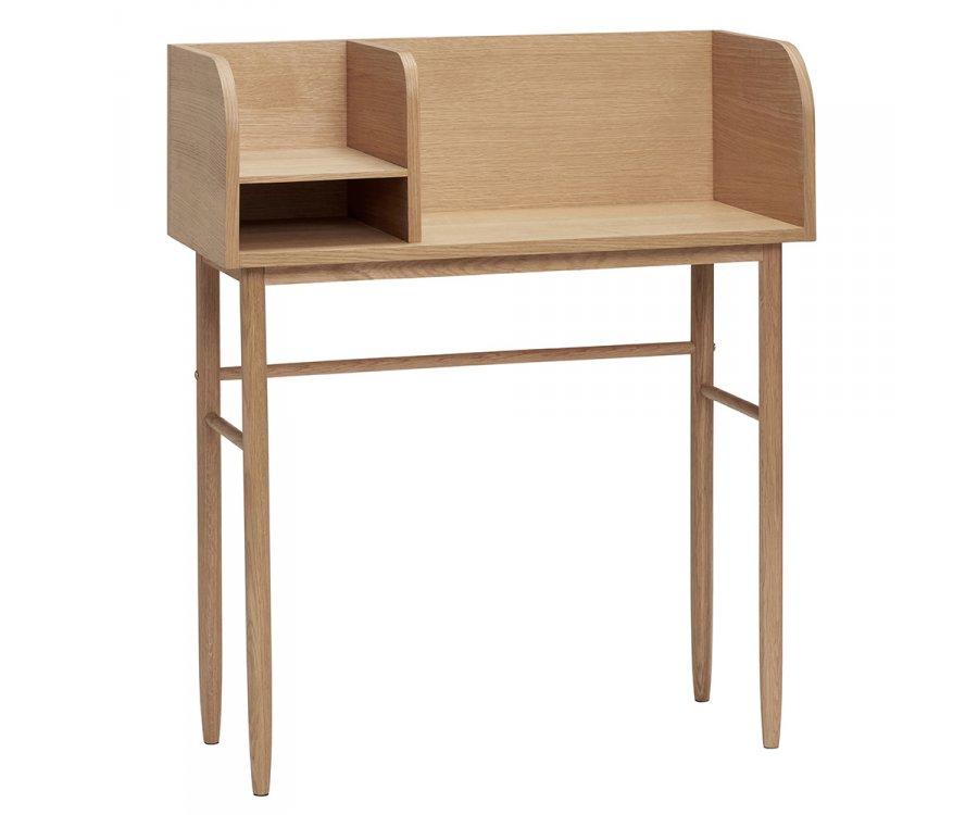 Petit bureau style nordique en bois YGIAN