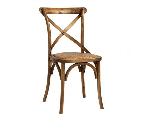 Lot de 2 chaises rétro en bois ARRIBA