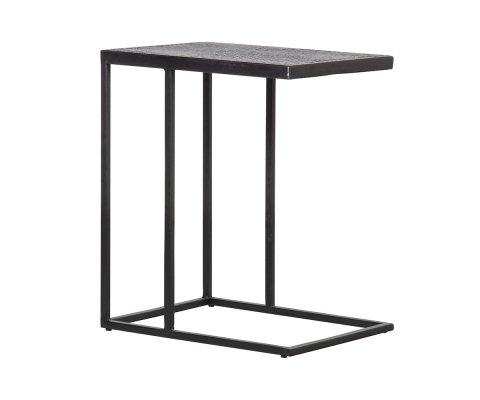 Table d'appoint en métal noir SIFO