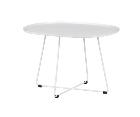 Table basse large exterieur blanche SIHO