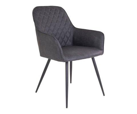 Chaise design en simili cuir COLGA