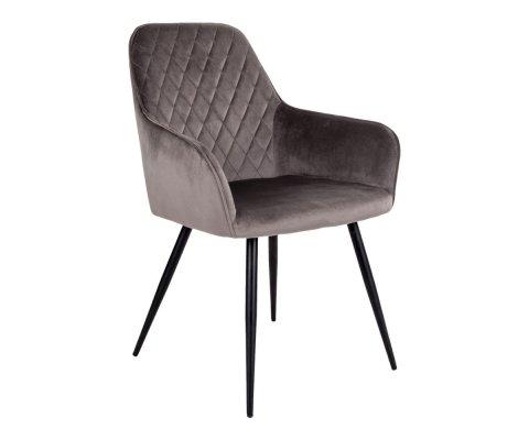 Chaise design velours-COLGA