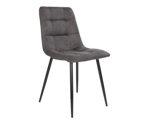 Chaise design en velours matelassé AGLO