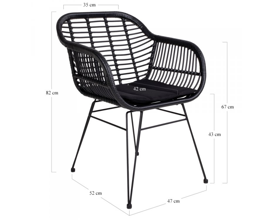 Chaise lounge scandinave-AMIO