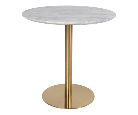 Table à manger ronde marbre 90 cm -SIENNA
