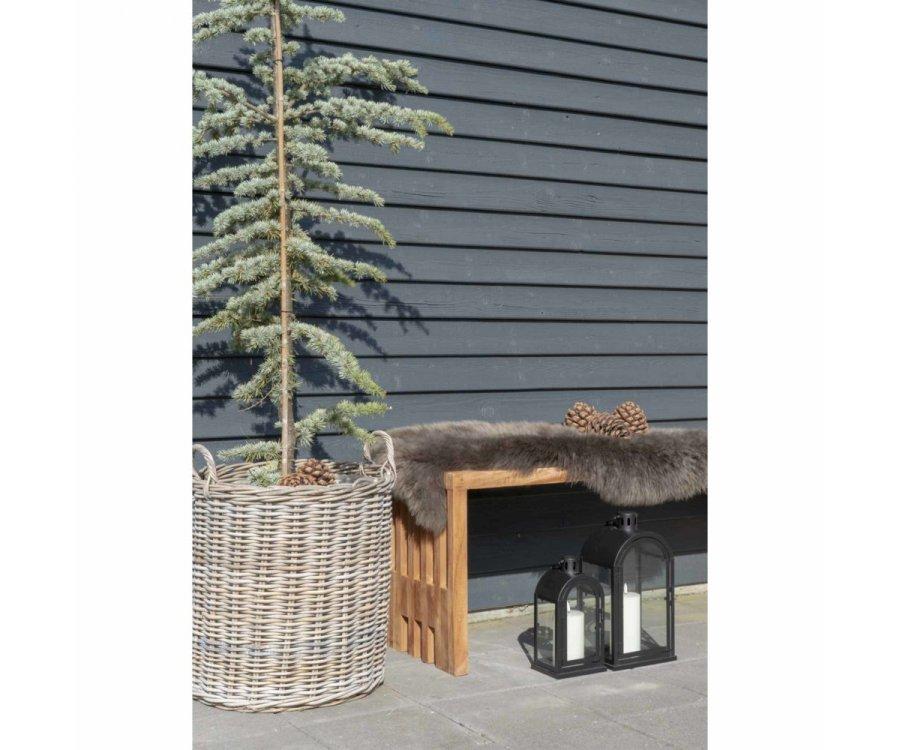 Banc en bois bohème 140x35 cm -HERCULANO