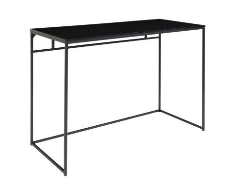 Bureau minimaliste 100cm en bois et métal POUN