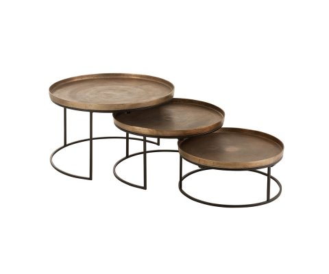 Set de 3 tables gigognes-SUSU