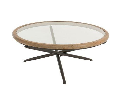Table basse ronde moderne 100cm MARSU