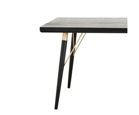 Table à manger 180cm style art déco VIRAGE - Nordal