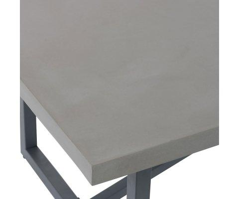 Table de salon béton-HUMIO