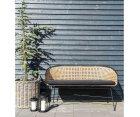 Sofa en rotin design POUB