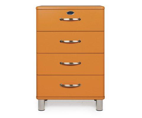 Commode 4 tiroirs style vintage MALIBU