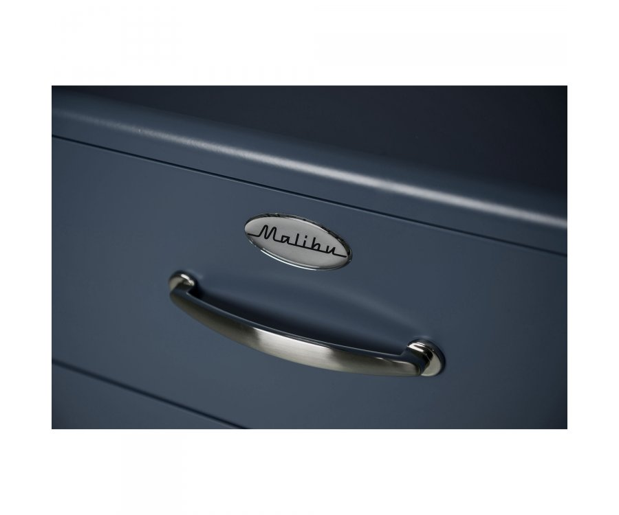 Buffet vintage 1 porte 4 tiroirs MALIBU