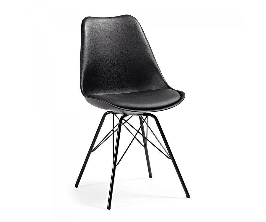 Chaise plastique pied métal ACCESS