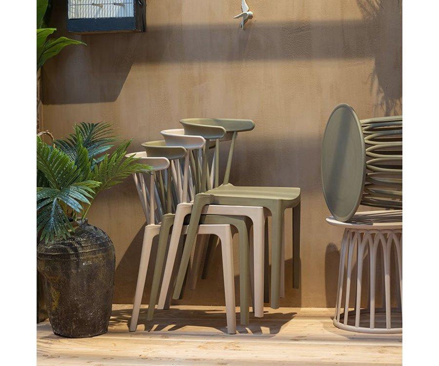 Chaise design exterieur en plastique SIGO