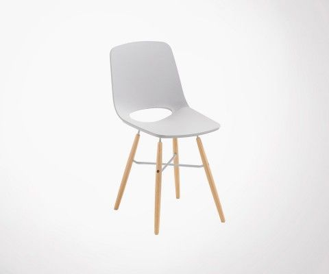 KANU Light Grey Dining Chair