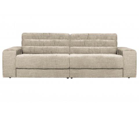 Canapé 2 places en tissu vintage