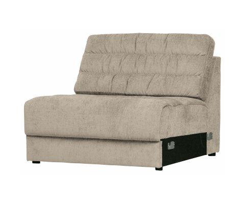 Petit fauteuil en tissu vintage NAHO