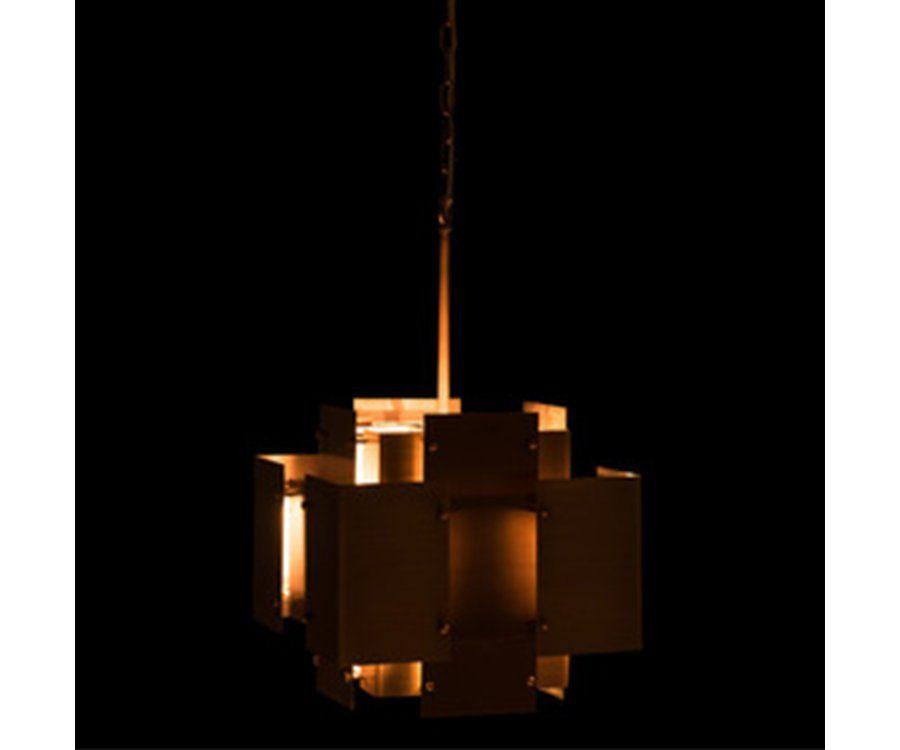 Suspension design métal doré MAKELLA