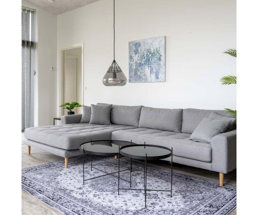 Canapé lounge avec coussins-MILIME