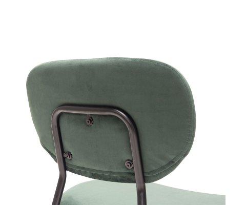 Chaise intemporelle en velours-ZORO
