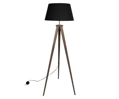 Lampadaire noir design-NICO