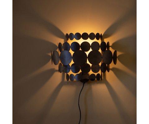 Lampe en métal noir-PAULE