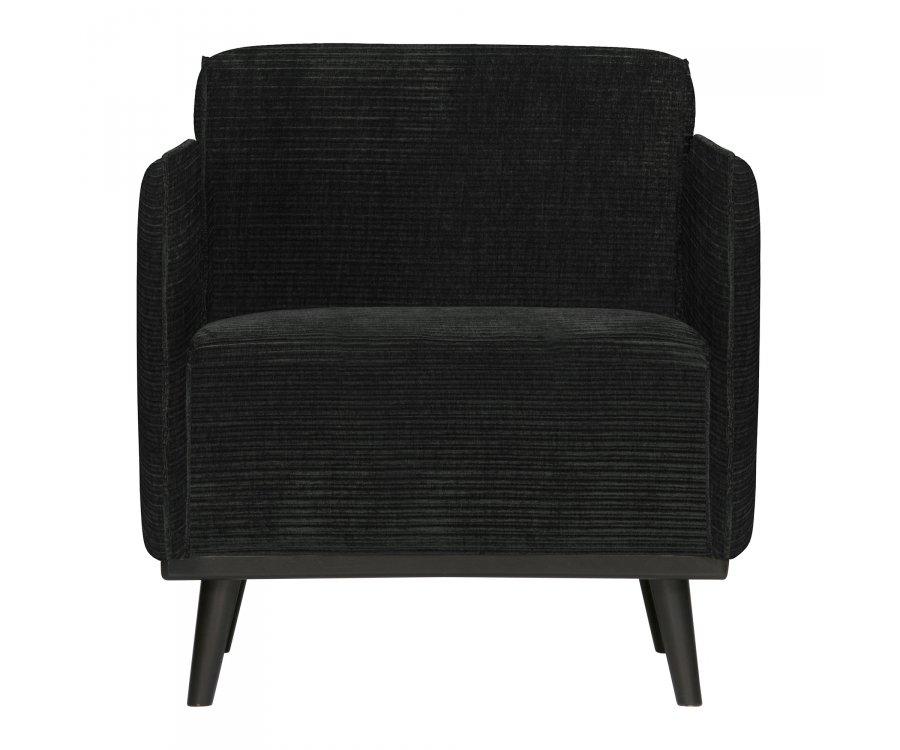 Chaise Design à larges côtes-FOUCAULT