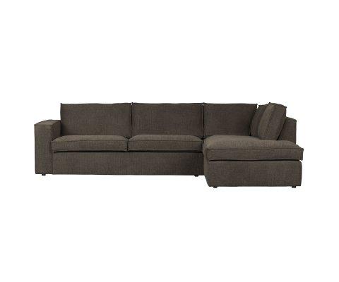 Canapé d'angle droit confortable-FREDDIE