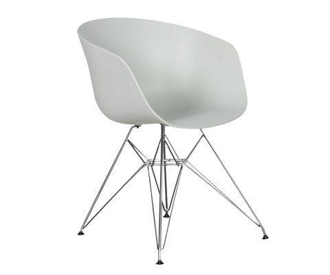 Chaise scandinave pieds métal EIFFEL