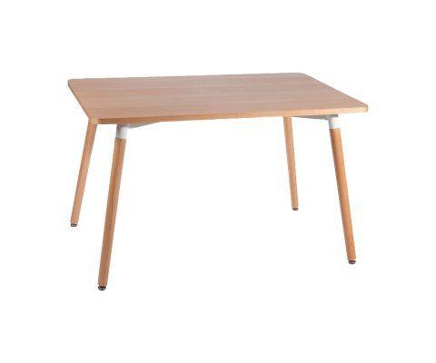 Table à manger 160cm plateau bois BASIC