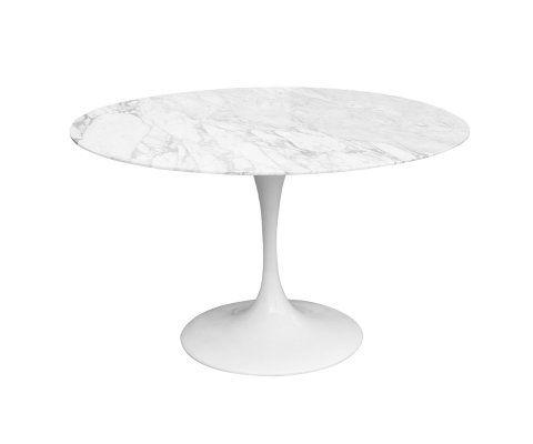 Table FLOWER marbre - 90cm