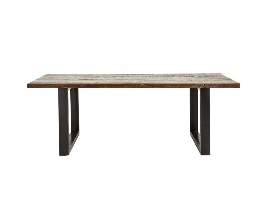 Grande table design bois brut STARKANIS - Nordal