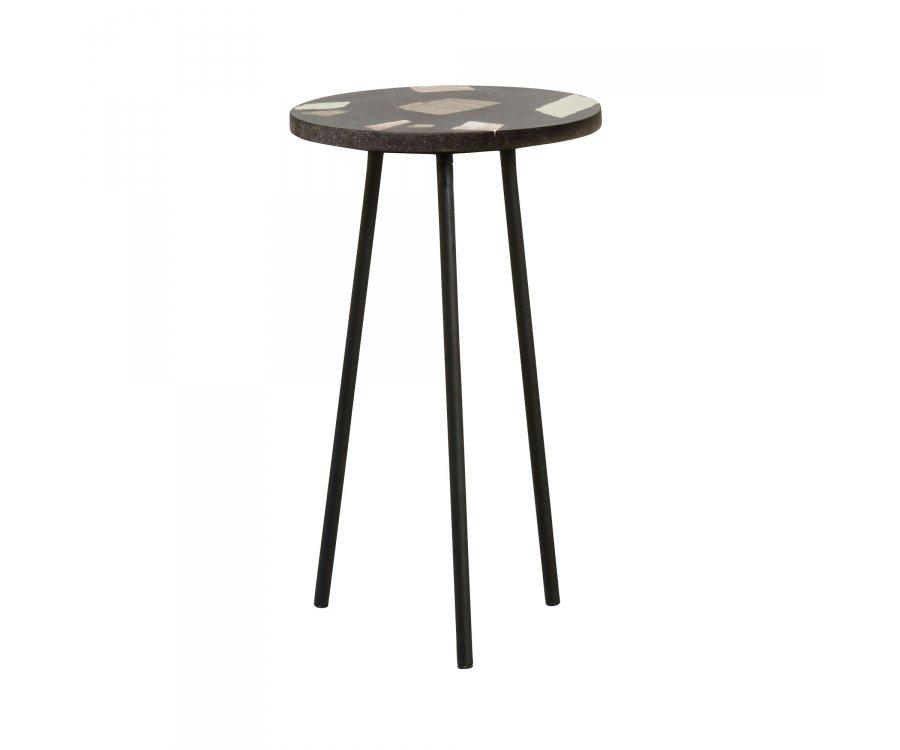 Table d'appoint terrazzo 35cm ZARC - Nordal