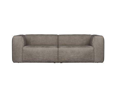 Canapé 3,5 places en tissu BEAN