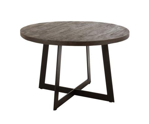 Table à manger vintage en bois de manguier ZOE