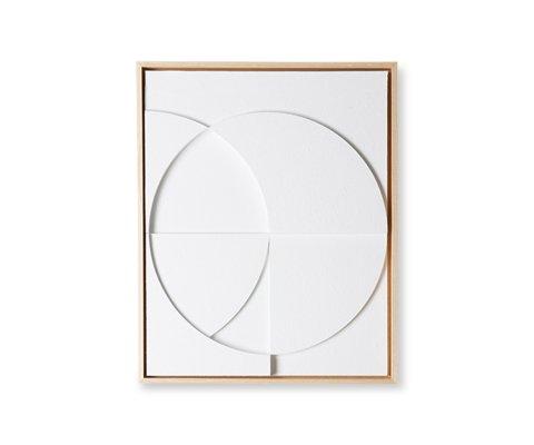 Tableau design art contemporain 43x53cm FRAME