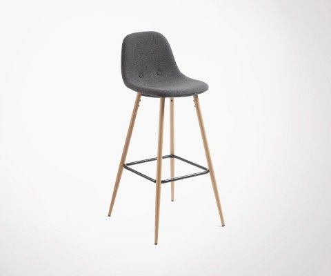 NELLY Fabric Design Chair Stool
