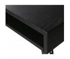 Grande table à manger pieds métal 220x90cm MAXELL - Woood