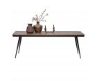 Table à manger 220x90cm teck massif RHOMBO - BePureHome