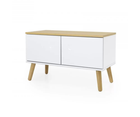 Petit meuble de rangement en bois ZENIO