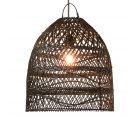 Abat-jour lanterne en rotin naturel AARON