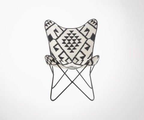 FLANA kilim butterfly chair ethnic style