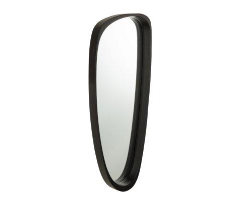 Miroir design contemporain contour noir RAPHAEL
