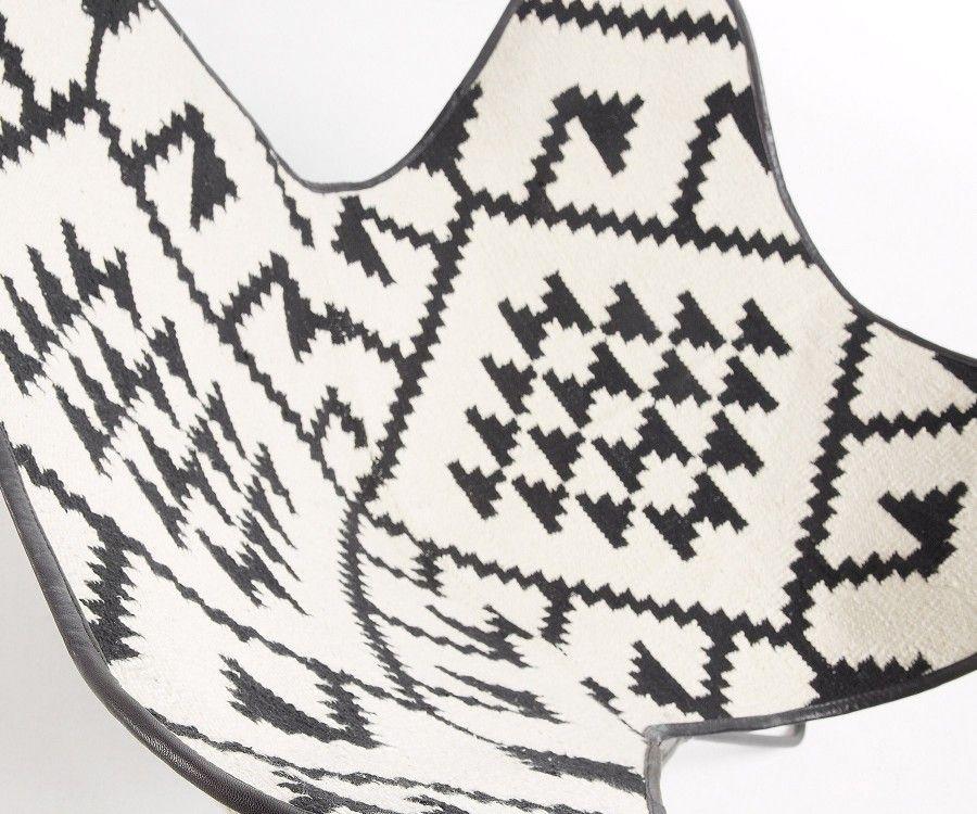 Fauteuil kilim style ethnique FLANA
