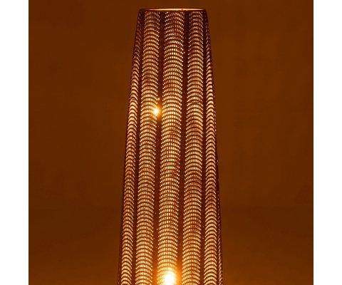 Lampe contemporaine 107,5cm cm en métal doré ENARA